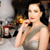 Dita Von Teese takes South Beach