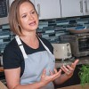 Cooking at home with Top Chef Lindsay Autry