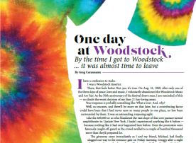 Confessions of a Woodstock deserter