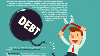 Five tips for digging yourself out of debt
